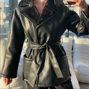 ASOS Vegan Leather Jacket